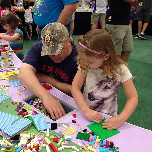 242:365 Hard at work. #legokidsfest