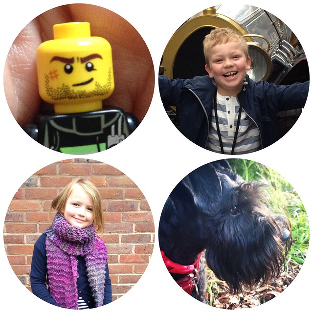 My family (the Lego man is a pretty good representation of my husband!)