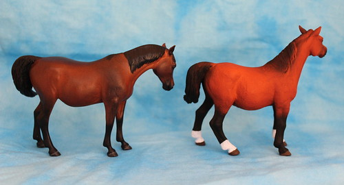 Walkaround of the 2014 Mojo Fun Arabian Mare in Foal and Comparison with Anna's Resin Version ;)  15064176122_7f71861637