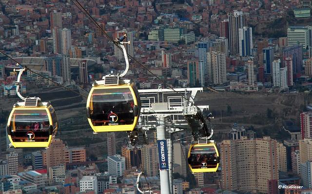 La Paz - Teleférico - Linea Amarilla