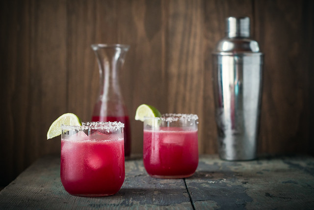 Prickly Pear Margaritas, Honey Sweetened | Will Cook For Friends