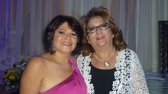 Dalva Martins e Betania Conrado