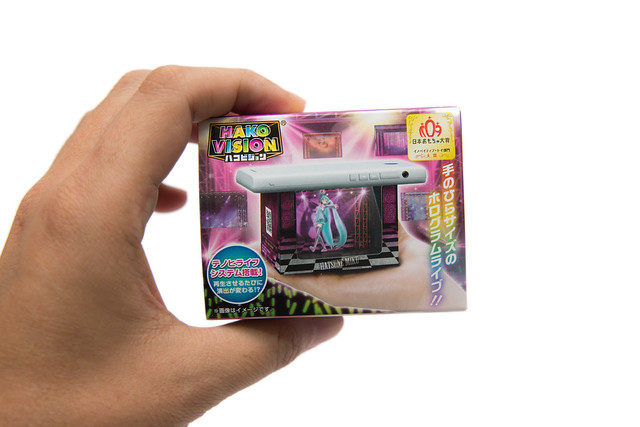 初音 / 剛彈虛擬投影食玩開箱分享 @3C 達人廖阿輝