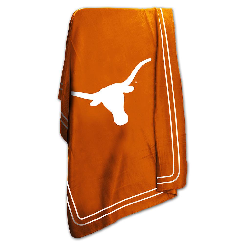 Texas Longhorns NCAA Classic Fleece Throw