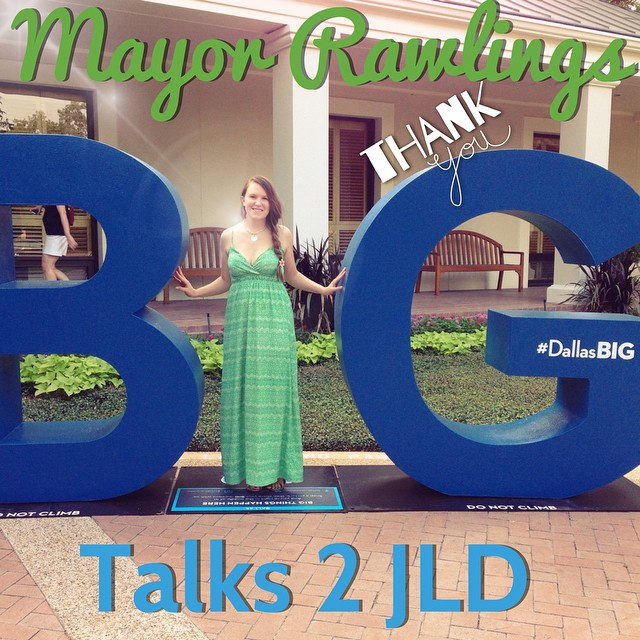 Mayor Mike Rawlings spoke to the ladies of JLD and discussed Dallas future plans. More on the blog tonight! DallasBIG