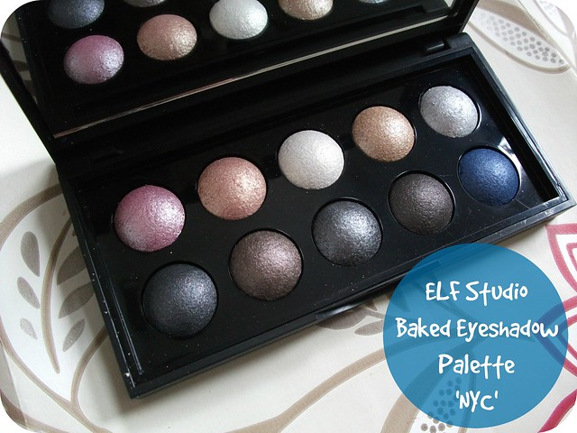ELF Studio Baked Eyeshadow Palette NYC Review