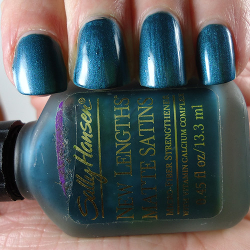 Sally Hansen Techno Teal Matte