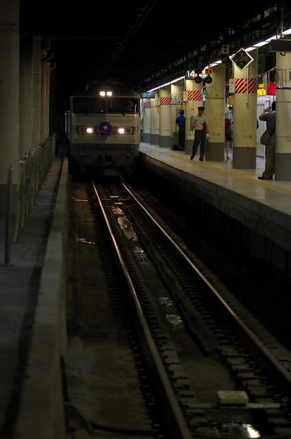 Tokyo Train Story 上野駅にてカシオペア 2014年9月14日