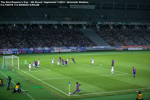 第94回天皇杯全日本サッカー選手権大会 ラウンド16 FC東京