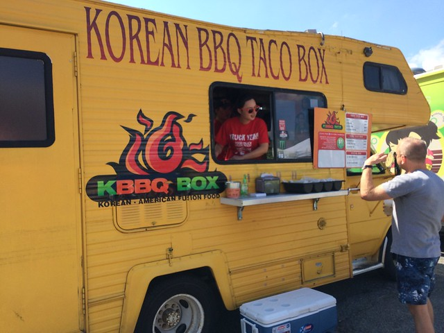 KBBQ Taco Box truck