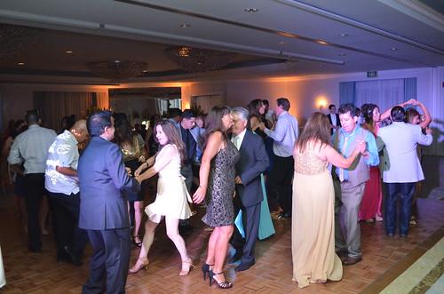 Dancing at Loews Coronado Bay Resort