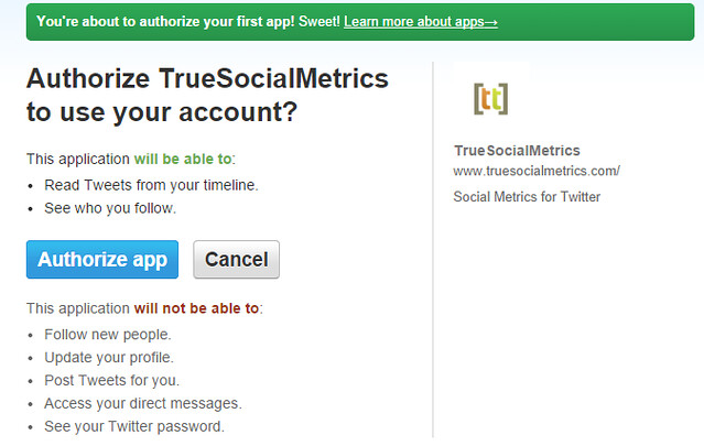 true social media metrics dashboard