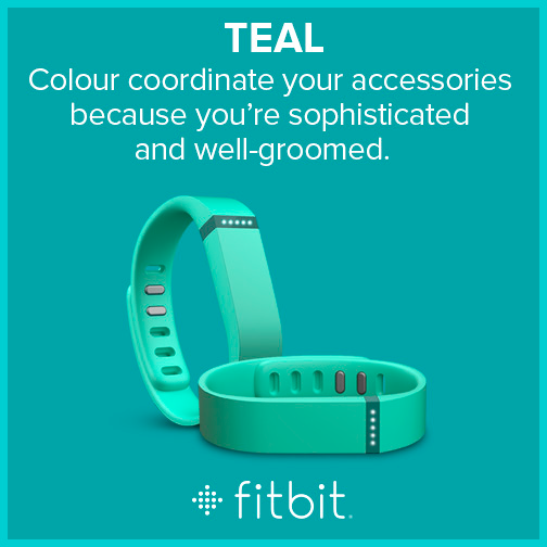 Fitbit Flex - Colors - Teal