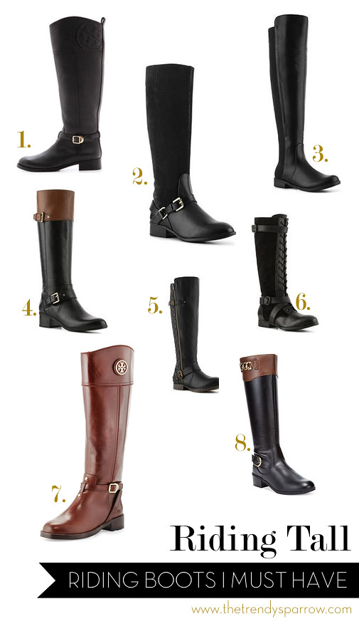 The Trendy Sparrow: Riding Tall: Must Have Riding Boots