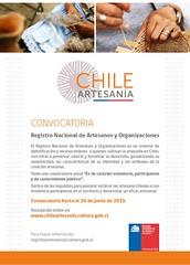 registro de artesanos chile