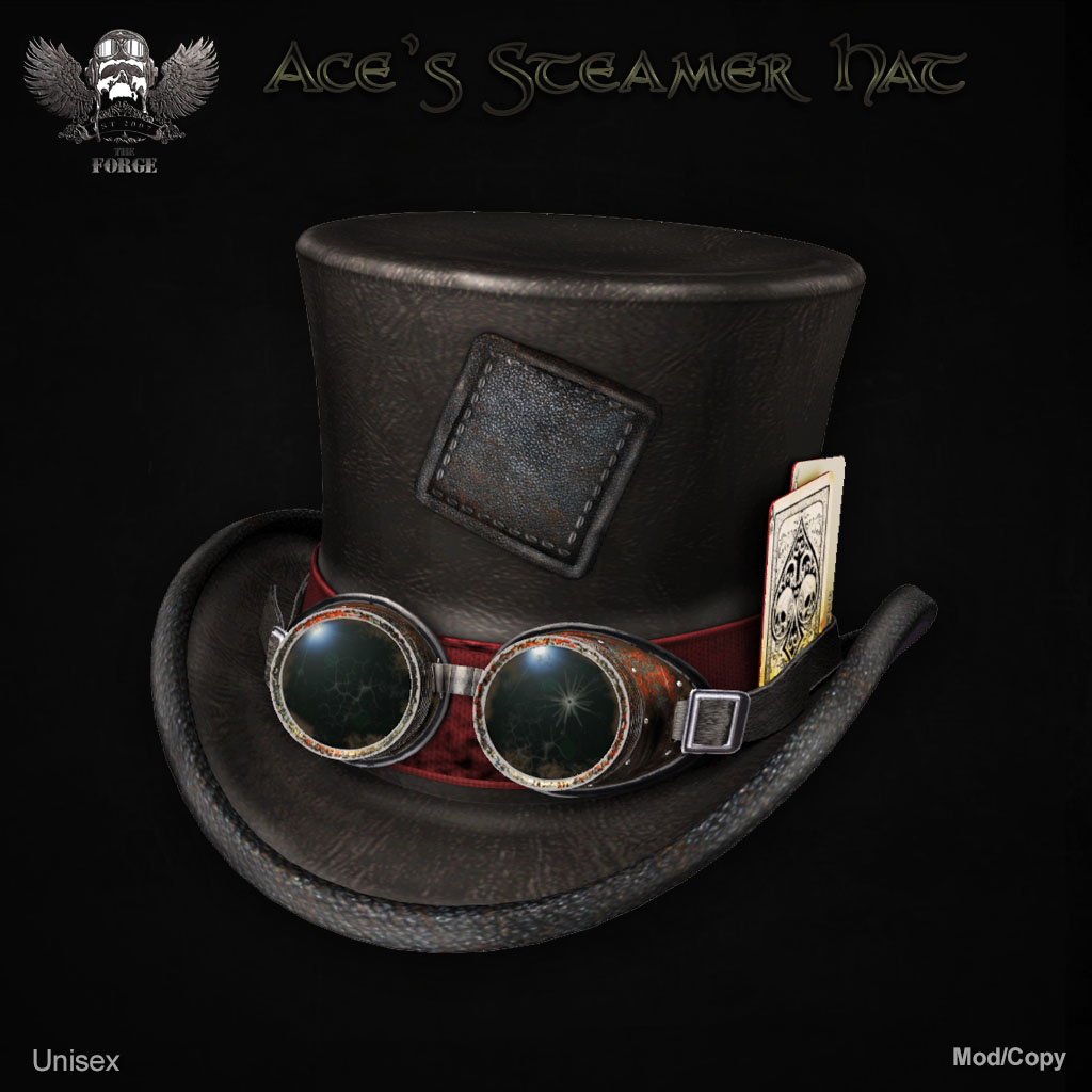 Forge Ace's Steamer Hat