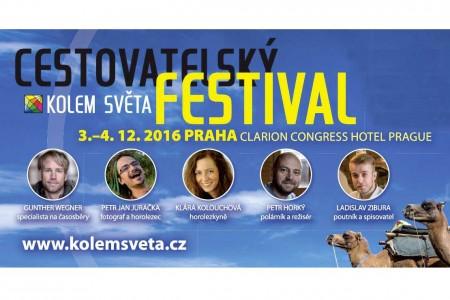 Festival Kolem světa – největší setkání cestovatelů a fotografů v Česku