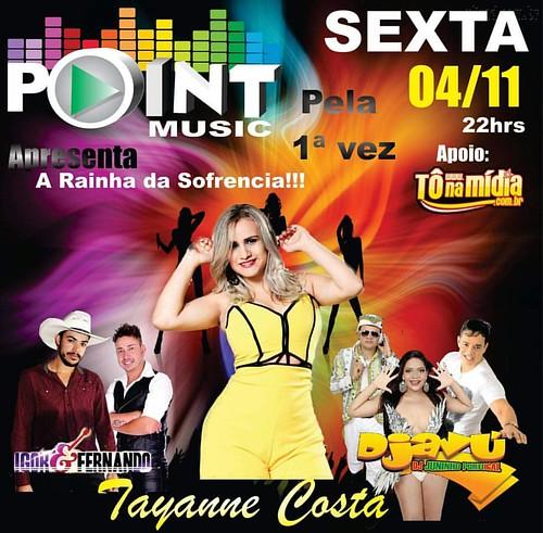 Sexta-feira, 04 de Novembro  Avioes melhor balada de ITU  #PointMusic