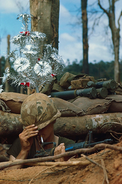 24 Nov 1967, Dak To, South Vietnam - Christmas '67 on Hill 875