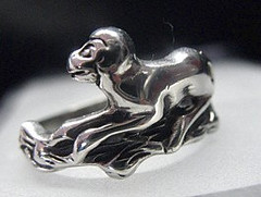 SS-2754 Adorable Monkey Howler ring 925 Sterling Silver Jewelry Pick Your Ring Size We Have Sizes 3 to 14 by princeofdiamonds