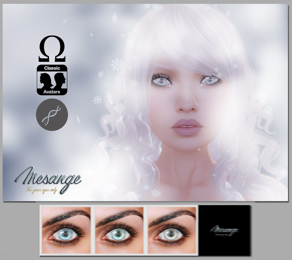 MESANGE - Ice Dream Eyes for WOH2 - SecondLifeHub.com