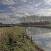 """22199 The Adur at Upper Beeding 3 Nov 16. Created for the Take Aim """"leading lines"""" Challenge by call me Michael"""