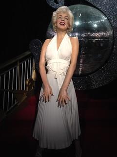 Marilyn Monroe figure at Madame Tussauds London