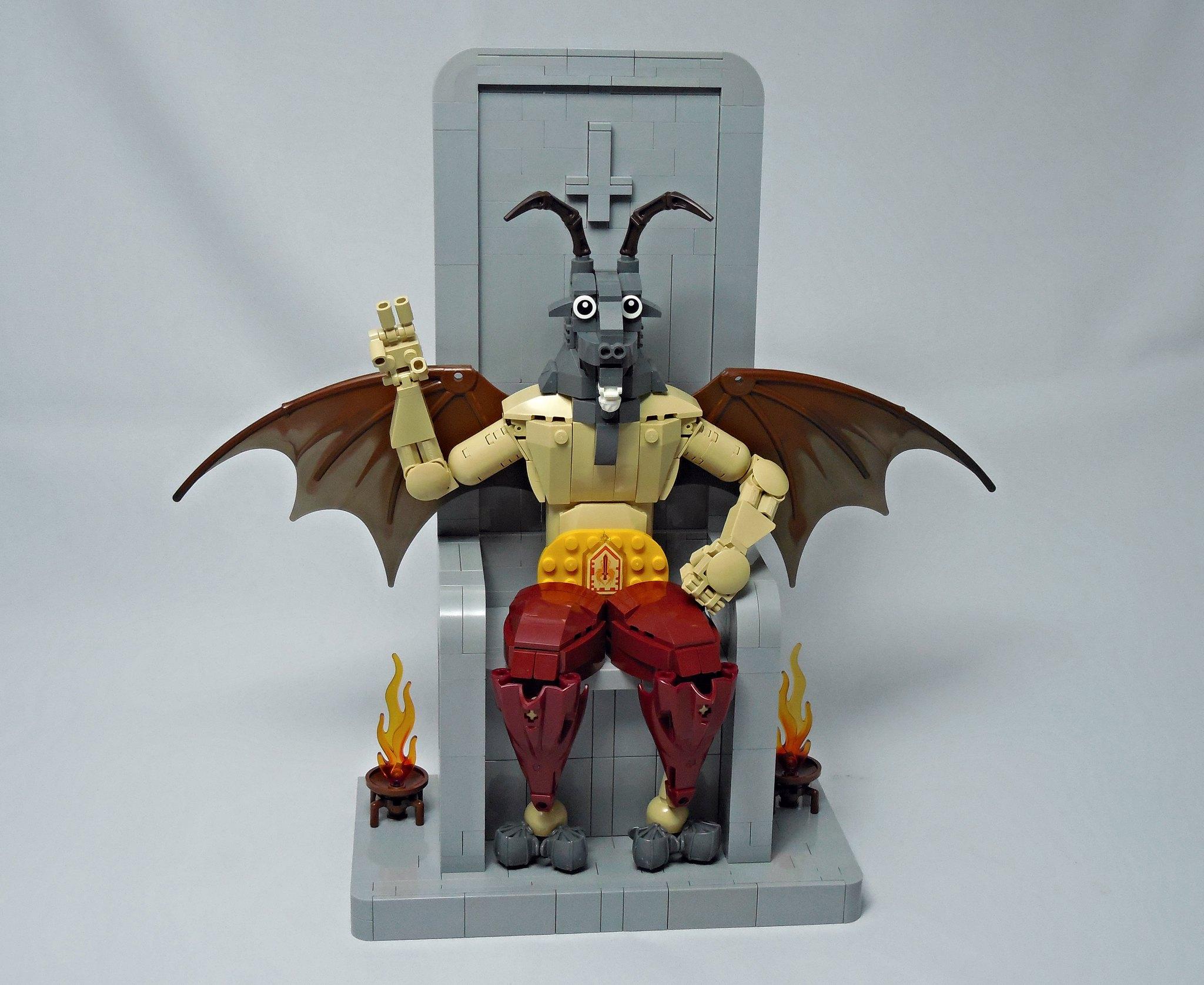 LEGO® MOC by Vitreolum: Baphomet