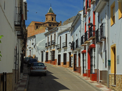 <Calle Iglesia Baja> Cañete la Real (Málaga)