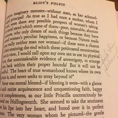 Marginalia is erudite as always. #feminist, #hawthorne, #theblithedaleromance, #ugh