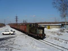 TU4-2727 Shatura narrow gauge railway, Kerva station
