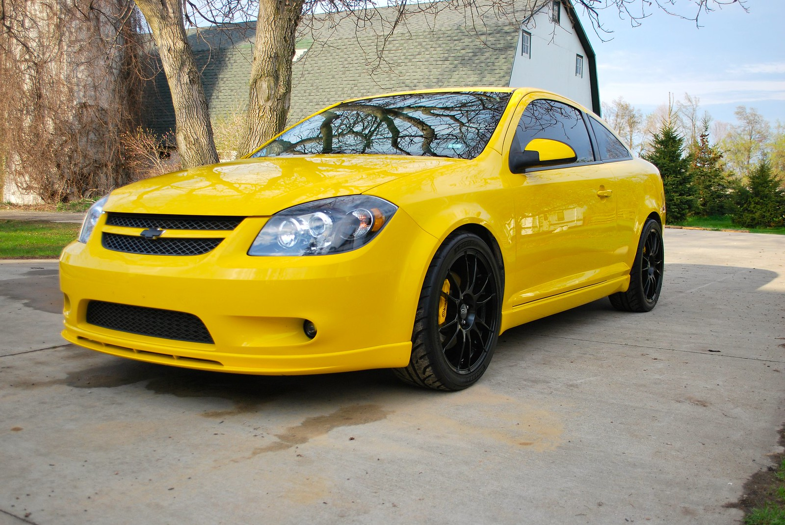 for sale 2009 cobalt ss turbo in rally yellow cobalt ss. Black Bedroom Furniture Sets. Home Design Ideas