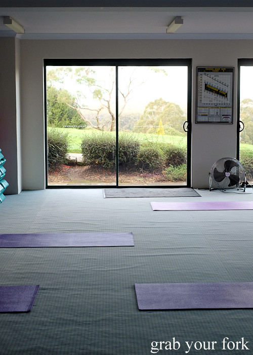 Morning stretch classes at Solar Springs Health Retreat, Bundanoon