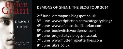 Helen Grant blog tour