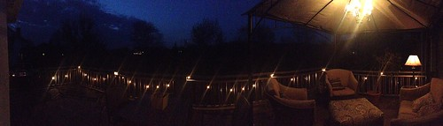 Evening on the deck