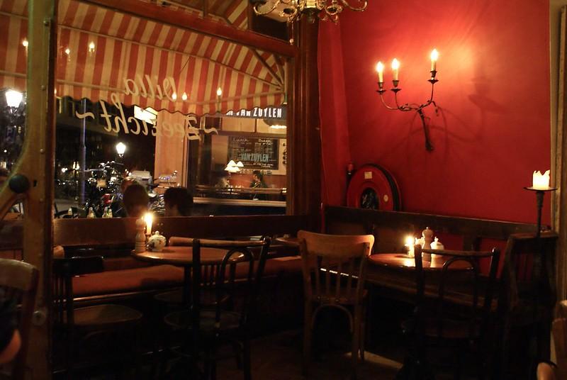 Restaurant italien à Amsterdam.