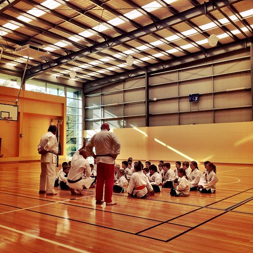 Karate Grading: Listening to the instructors