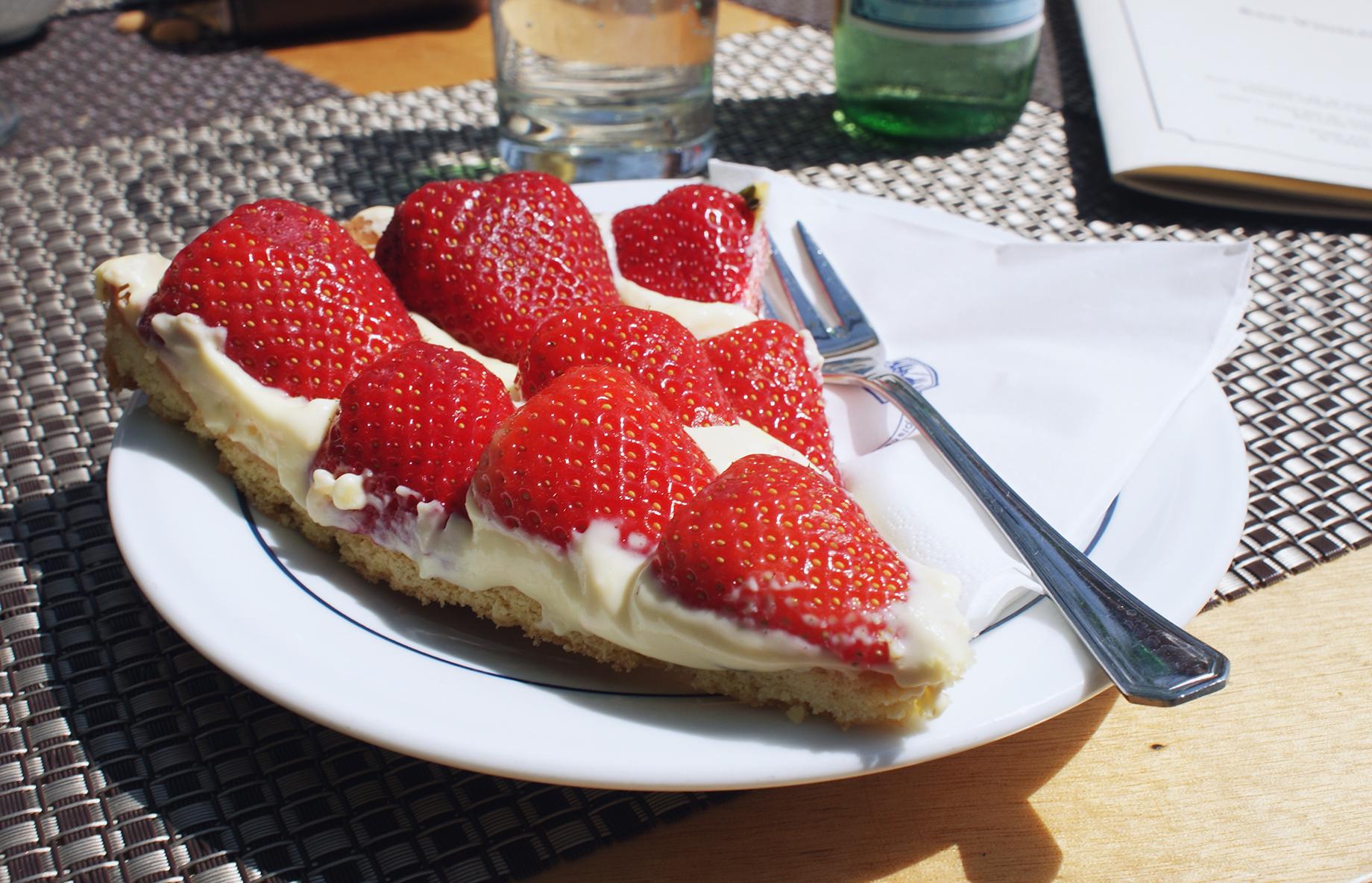 Kuchen am Gardasee