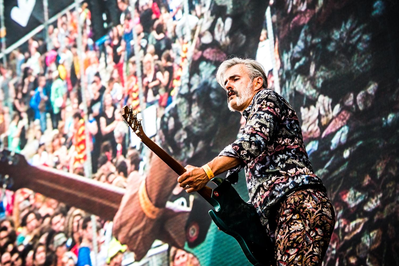 Triggerfinger @ Rock Werchter 2014 (Jan Van den Bulck)