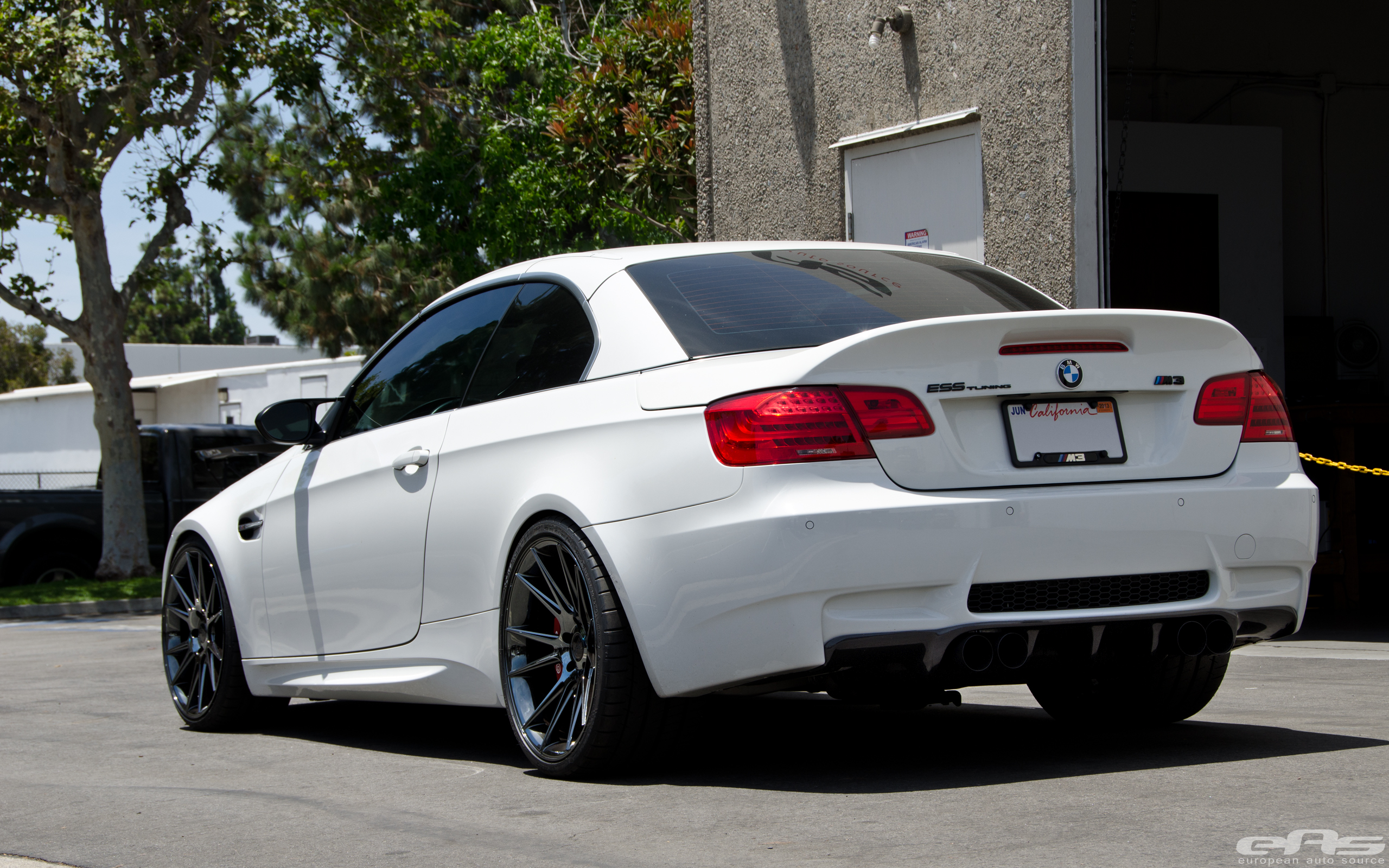 Black Chrome Niche Vicenza Wheels Installed On M3