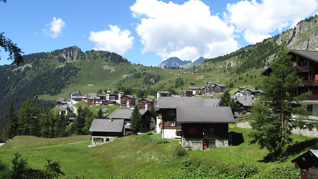Greicheralp and Riederalp