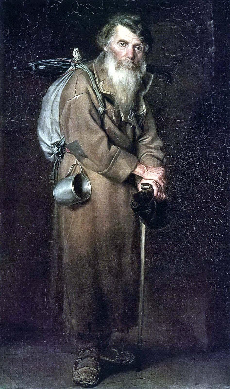 Wassili Grigorjewitsch Perow, Der Pilger, 1870. Stannik