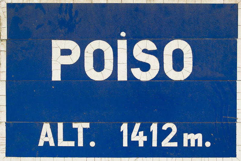 Poiso - Madeira