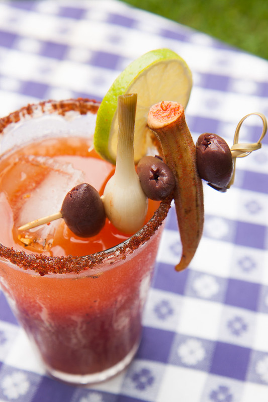 Bloody Mary garnish