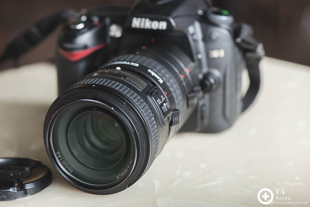 50mm F1.8 prime lens with Extension Tubes