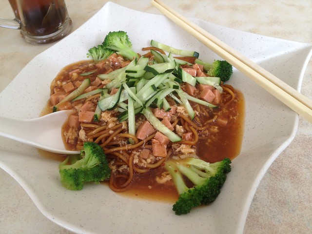 Vegetarian-Meals-Beancurd Noodles