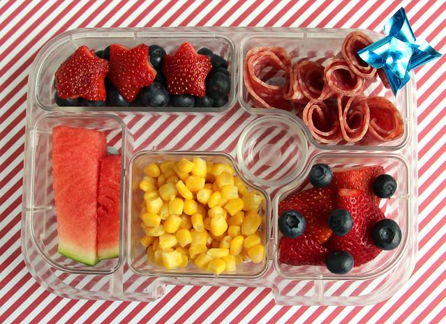 Preschooler 4th of July Bento #681