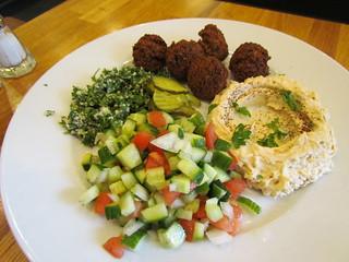 Falafel Plate at Zaatar