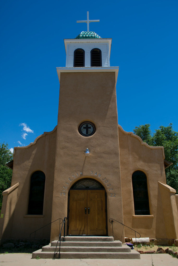 187/365 San Jose Church in Cerillos, NM