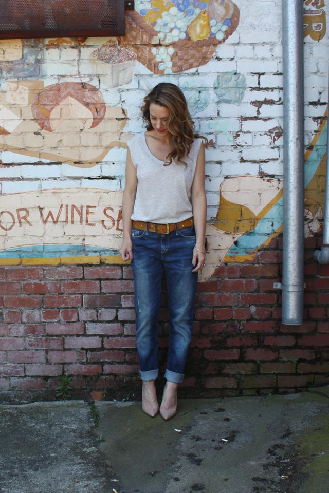 jeans & t-shirt